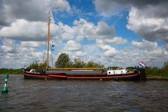 Bateau historique néerlandais Images stock