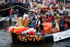 Bateau homosexuel de Hindustan, fierté homosexuelle 2011 Images libres de droits