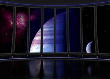 Bateau intérieur de Sci fi Photographie stock libre de droits