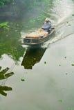 bateau Long-coupé la queue Image stock