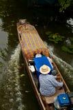 bateau Long-coupé la queue Photographie stock