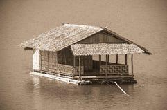 bateau-maison Photos stock