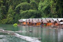 bateau-maison Image stock