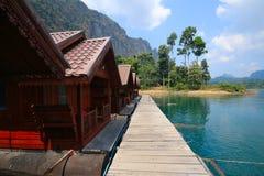 Bateau-maison chez Chiao Lan 2 Photo libre de droits