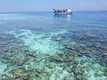 Bateau Maldives Photo stock