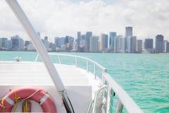 Bateau Miami Photographie stock libre de droits