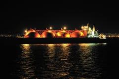 bateau normal de GNL de gaz porteur Image stock