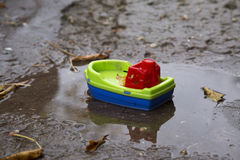 bateau petit Photographie stock