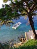 bateau petit Photo stock