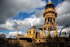 Bateau-phare No. 72 image libre de droits