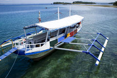 Bateau philippin de Bangka Images libres de droits