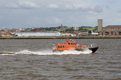 Bateau pilote du Mersey Photo stock
