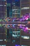 Bateau Quay de Singapour Photos libres de droits