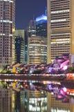 Bateau Quay de Singapour Photo stock