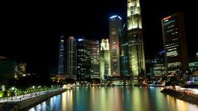Bateau Quay de Singapour Images stock