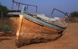 Bateau retiré Image stock