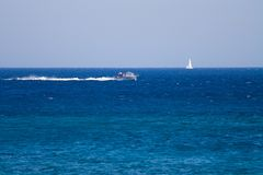 Bateau Rhodos Photo stock