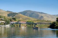 Bateau Rio Douro Pinhao images stock