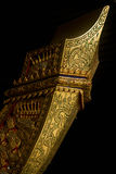 Bateau royal de proue thaïe Images libres de droits