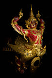 Bateau royal de proue thaïe Images stock