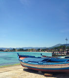 Bateau sicilien Photographie stock libre de droits
