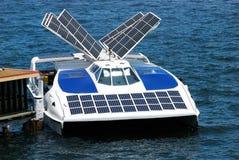 Bateau solaire Photographie stock libre de droits