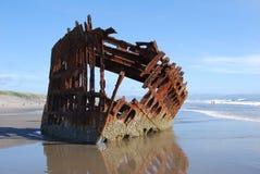 Bateau submergé Photo stock