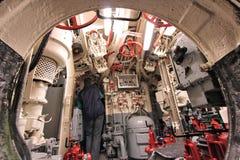 Bateau submersible de musée Image libre de droits