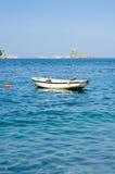 Bateau sur la mer Image stock