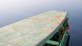 Bateau sur le fleuve d'Amazone Images stock