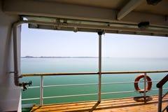 Bateau sur le lac Nasser Photographie stock libre de droits