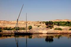 Bateau sur le Nil photographie stock