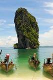 Bateau thaï de longtail Photos libres de droits
