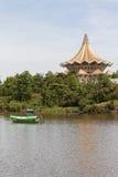 Bateau traditionnel Sarawak, Malaisie Photos stock