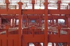 bateau vide de cargaison Images stock