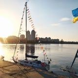 Bateau, yacht Photos stock