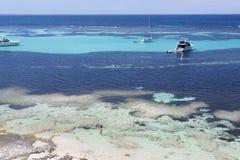 Bateaux à l'île de Rottnest, Australie occidentale, Australie photos stock