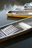 Bateaux à rames photos stock
