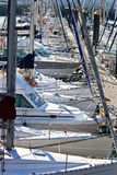 Bateaux à voiles Photo libre de droits