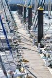 Bateaux à voiles Photos stock