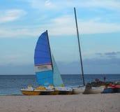 Bateaux au Cuba Photo libre de droits