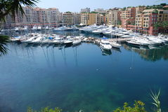 Bateaux au Monaco Photos libres de droits