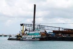 Bateaux au port Photos stock