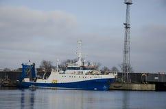 Bateaux au port de Gdynia Photo libre de droits