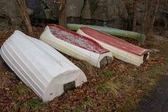 Bateaux au stensjon de lac Images stock