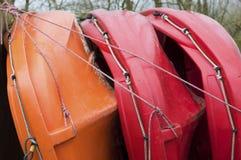 Bateaux colorés image stock