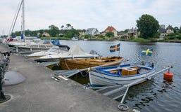Bateaux dans la marina Image stock