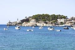 Bateaux dans la marina, Majorca photos libres de droits