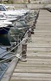 Bateaux dans le port Images stock