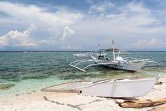 Bateaux de Banka, Bohol, Philippines Photo stock